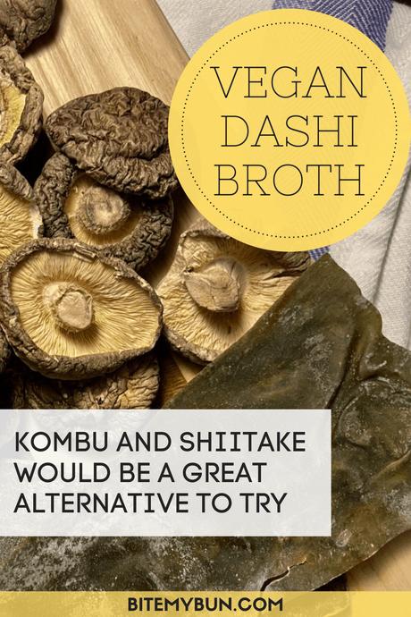 Homemade Vegan Dashi broth recipe