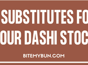 Don't Have Dashi! What These Secret Substitutes Instead
