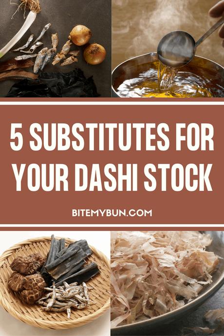 5 Dashi Stock Substitutes
