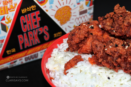 Try Chef Park's New Flavour – Korean Buffalo Chicken!