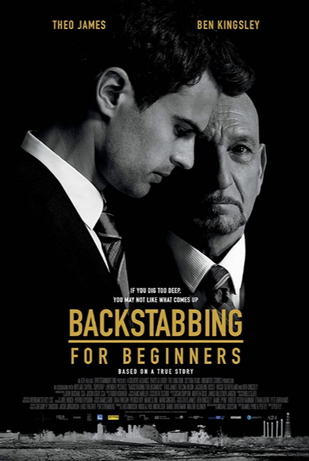 ABC Film Challenge – Thriller – B – Backstabbing for Beginners (2018) Movie Review