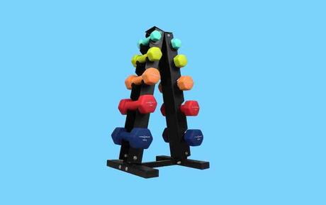 Fitness Republic Dumbbell Set with Steel Rack