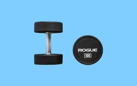 Best Dumbbell Set - Rogue Urethane Dumbbells