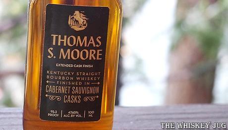 Thomas S. Moore Bourbon Cabernet Sauvignon Casks Label