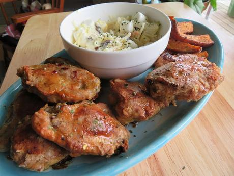 Extra Crispy Chicken Wings with a Lime & Honey Glaze