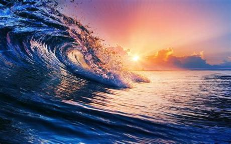 We have an extensive collection of amazing. nature, Sunset, Sea, Waves, Clouds, Water, Colorful ...