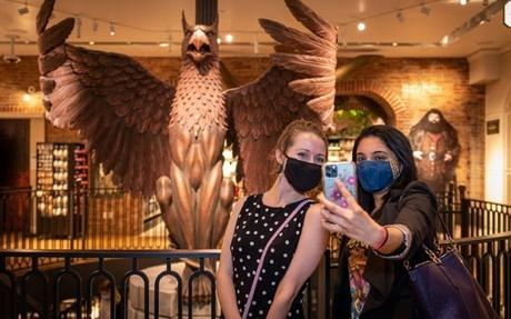 The World's Only Harry Potter Flagship Store Welcomes Customers Through The Doors For The First Time