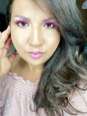 Slaying Pink Lashes for Summer