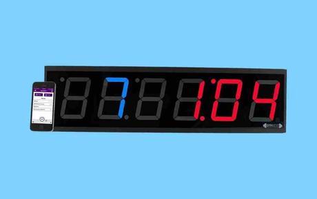 GymNext Flex Timer with Remote and App - Best Gym Clocks
