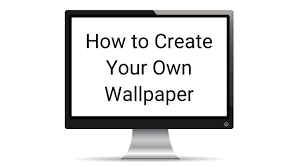 Customize your text by curving it, adding a drop. How To Create Your Own Wallpaper For Desktop Or Smartphone
