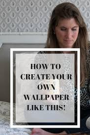 As soon as you get signed up, you'll be asked to choose why you're using canva. Here S How I Created My Own Bedroom Wallpaper House Anna