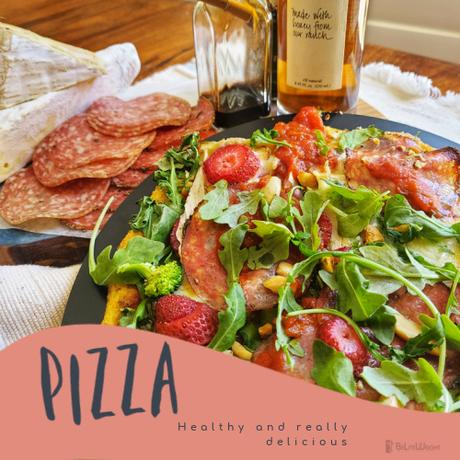 PIZZA- Healthy and really delicious