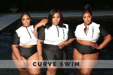 Tasha Cobbs Leonard Plus Size Swimwear With Curve Athletics