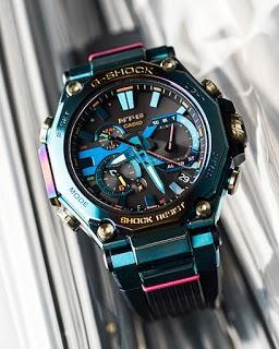 The Casio G-SHOCK MT-G Blue Phoenix-Inspired Watch Is Simply Too 'Chio'