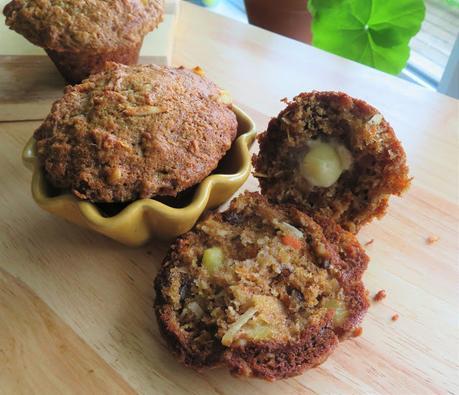 Morning Glory Muffins (small batch)