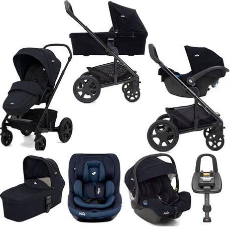 Купить универсальную коляску joie chrome (2 в 1). Joie Chrome DLX (i-Venture & i-Gemm) Travel System with ...