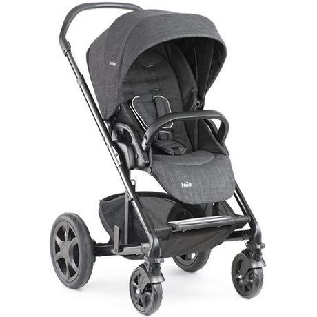 Купить универсальную коляску joie chrome (2 в 1). Poussette Chrome DLX de Joie pas chère sur Babylux