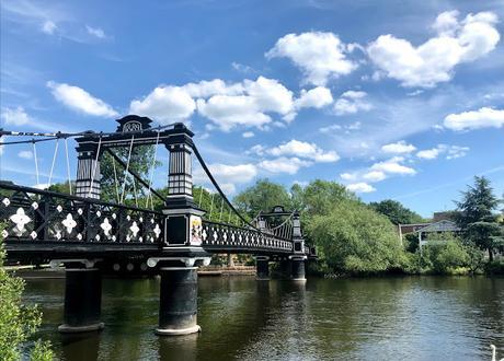 Rollin' On The River... Burton-On-Trent, England!