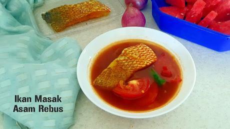 Ikan Masak Asam Rebus Recipe @ treatntrick.blogspot.com