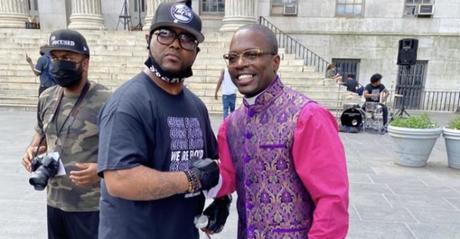 George Floyd's Brother, Terrence Floyd Endorses Bishop Lamor Miller Whitehead
