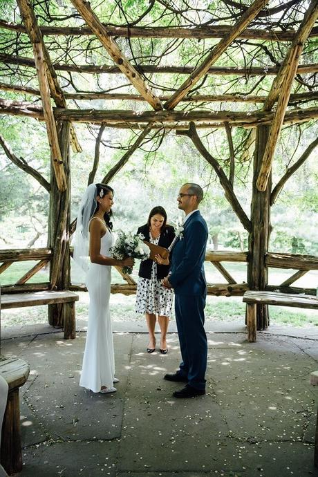 Jazmin and Alex's Cop Cot Wedding in May