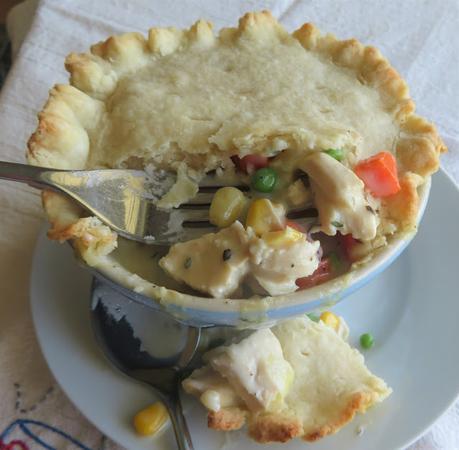 Chicken Pot Pie (for one)