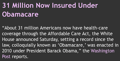 Record Number On Obamacare (That's Not Good Enough)