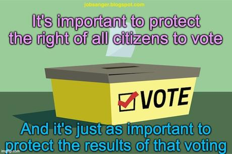 Congress Must Protect Both Right To Vote & Election Results