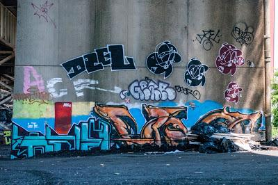 Graffiti, context, photographing street art, and the spatial complexity of urban infrastructure [Jersey City Mural Festival]