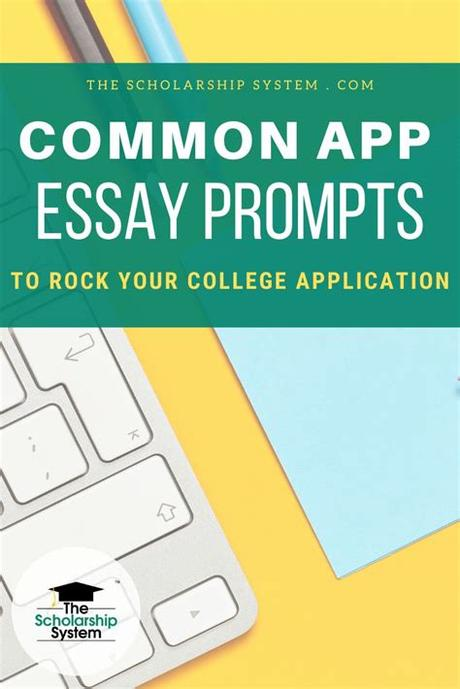 The common application, as well as many individual college applications and supplements, give students a choice of essay topics. Common App Essay Prompts to Rock Your College Application ...