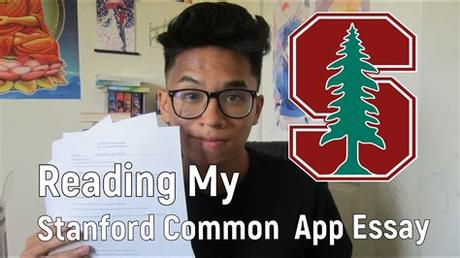 In addition to the main common application essay, many schools require additional supplemental essay responses. Reading My Stanford Common App Essay! (+Tips) - YouTube