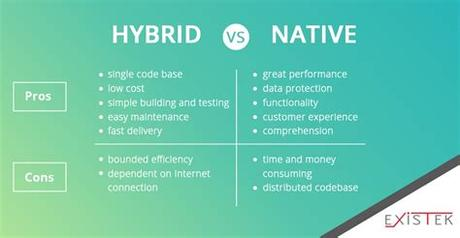 Web apps are designed to look good on any. Hybrid VS Native App: Which one to choose for your ...