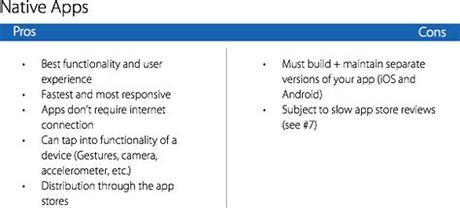 I know that i can find some information around the web and so. 11 Things Every Mobile Product Manager Needs to Know ...