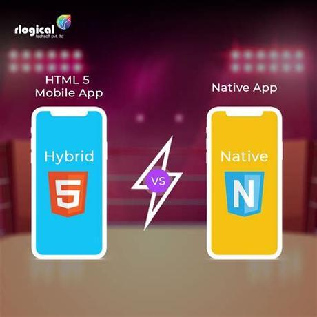 Web app, hybrid app vs. HTML 5 Mobile App vs Native App - Which are better?   Ios ...