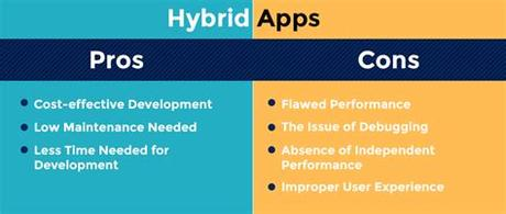 Now it is high time to dig a little bit deeper. What to Choose Between Native App & Hybrid App - An Overview