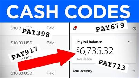 And you can add money in your cash app card through cashier. Get PayPal Cash Codes For Free! (Surveys Suck) - Make ...