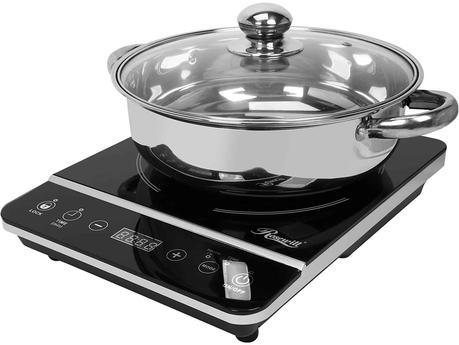 Best cheap portable induction cooktop: Rosewill RHAI-13001
