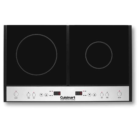 Best induction cooktop with 2 burners: Cuisinart ICT 60