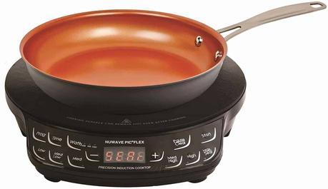 Best portable induction cooktop pan set: NuWave Flex