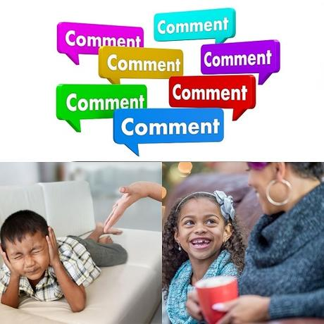 Critical Comments Flow Freely from Parents