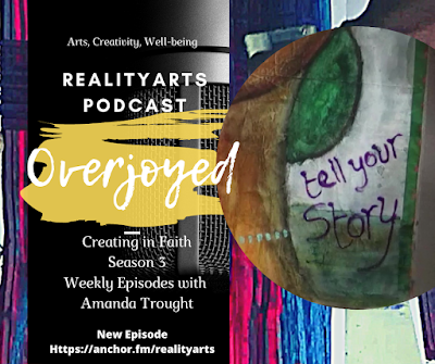 Creating in Faith - Word for the Week - Overjoyed!!