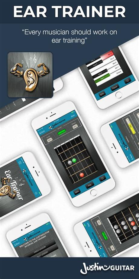 We created earbeater to help music students train their aural skills. JustinGuitar Apps | JustinGuitar.com