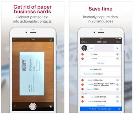 The free virtual business card app has plenty of features to create your digital business card on your mobile device and easily share it with others. The best business card scanner apps for iPhone