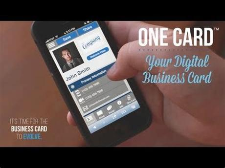 The free virtual business card app has plenty of features to create your digital business card on your mobile device and easily share it with others. One Card™ | Your Digital Business Card - YouTube
