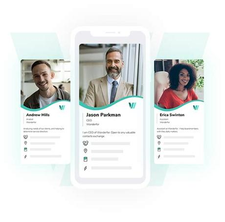 There must be a more modern and mobile way to share your contact information with someone. Digital Business Card App Free : Switchit Digital Business ...