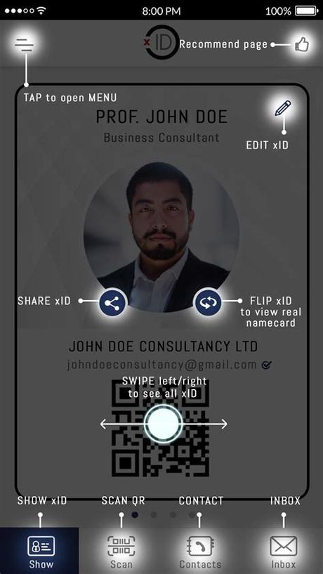 Feature to edit display name on the cards. xID - Digital Business Card Alternatives and Similar Apps ...