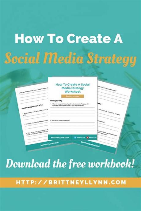 Quantitative metrics for social media application. How To Create A Social Media Strategy (plus a free ...