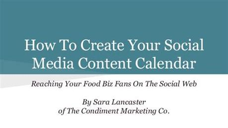 Every buyer should be able to get expert help in using the application, with the best solution as providing 24/7 service. How To Create A Social Media Content Calendar For Your ...
