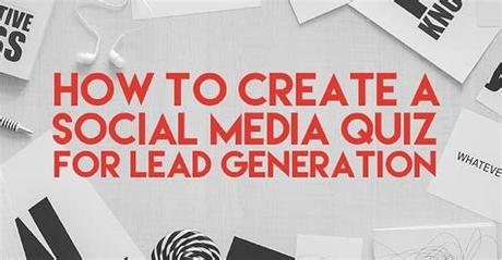 There are still spots on the social media app market. How To Create A Social Media Quiz For Lead Generation