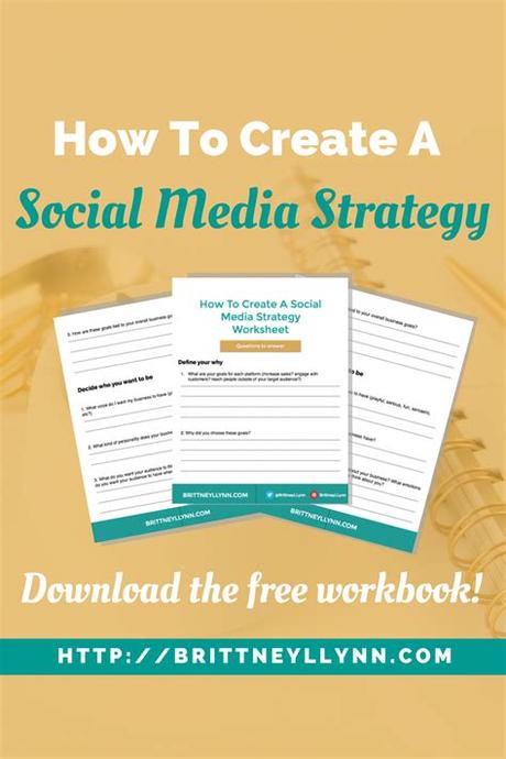 Run some contest or other marketing tactics to gain attention. How To Create A Social Media Strategy (plus a free ...